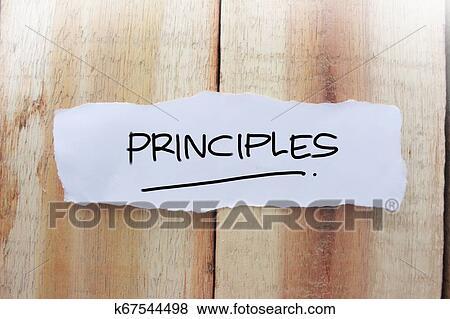Citaten Noteren : Principes motivational woorden citaten concept stock foto