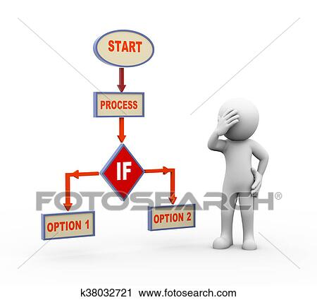 Process Flow Clip Art