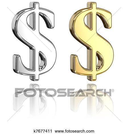 clipart of dollar signs k7677411 search clip art illustration