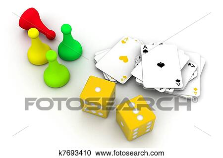 Stock Illustrations Of Boardgame Pieces K7693410 Search Clipart