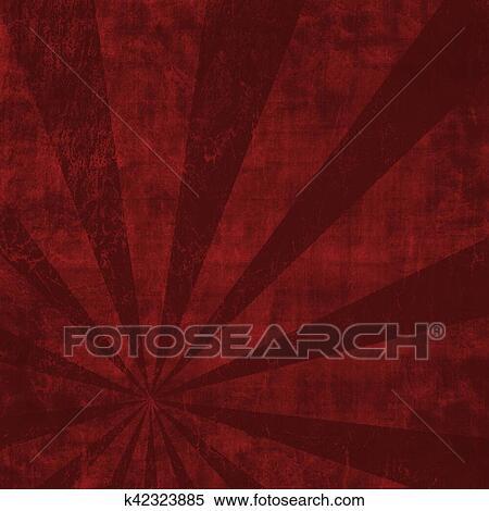 Estratto Rosso E Sfondo Nero Con Chiazzato Effetto Ideale Come Uno Fondale Archivio Illustrazioni