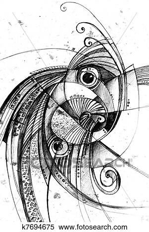 Ilustrace Z Mnoziny Konstrukce Delat Resume Kresleni K7694675