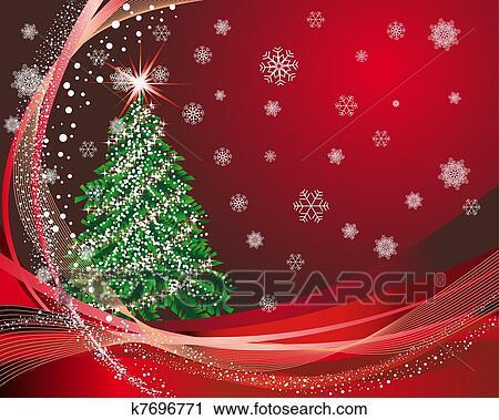 Karte Weihnachten.Weihnachten New Year Karte Clipart
