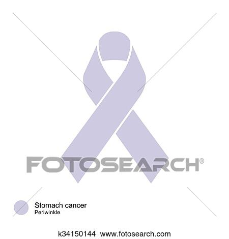 stomach cancer ribbon color