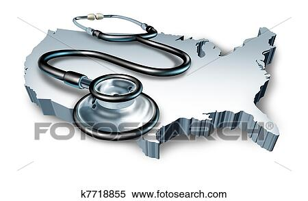 Stock Image Of American Medical Health Symbol K7718855 Search