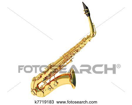 Dessin Saxophone dessin - saxophone k7719183 - recherchez des cliparts, des