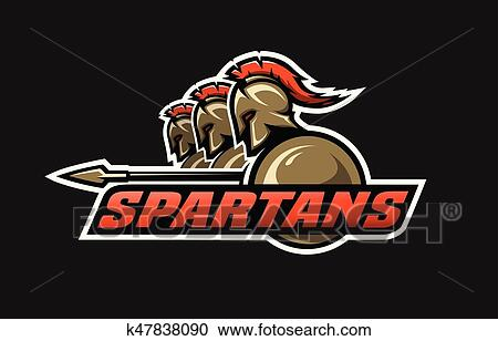 Clipart Of Spartan Warriors K47838090 Search Clip Art
