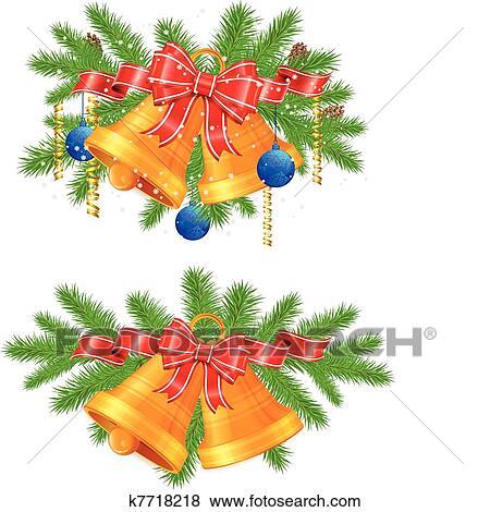 Clip Art Weihnachtsdeko K7718218 Suche Clipart Poster