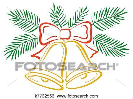 desenho sinos natal k7732563 busca de imagens clip art