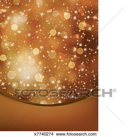 Elegant Christmas Background Images.Elegant Christmas Background With Copyspace Eps 8 Clipart