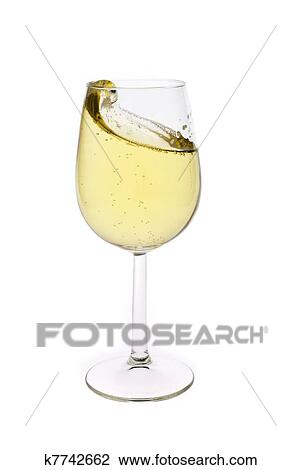 merry christmas and happy new year champagne flutes making a toast isolated on white background