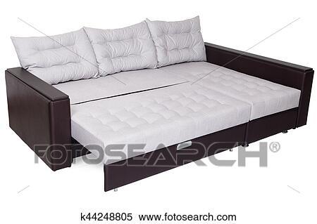 Folding Sofa Bed Of White Full Size