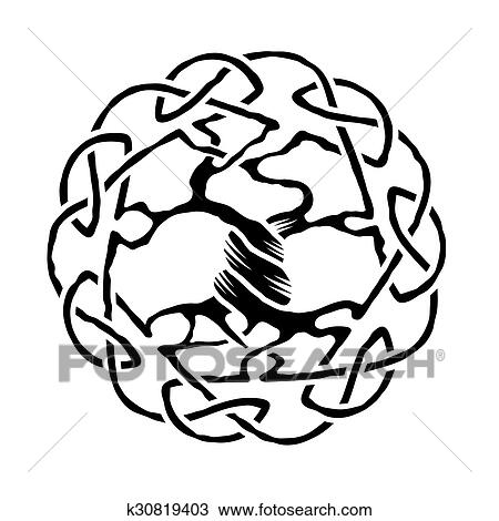 clipart of celtic tree of life k30819403 search clip art rh fotosearch com tree of life vector clip art tree of life vector equilibrium vortex