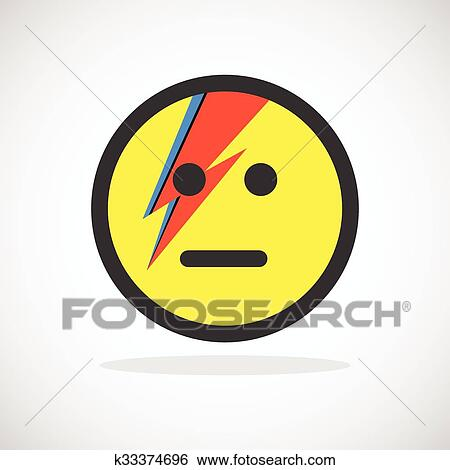 Smile Yellow Icon Clip Art K33374696 Fotosearch