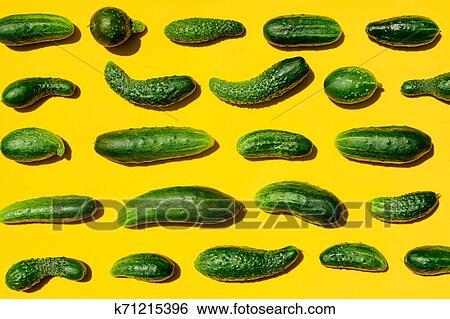 Warum werden gurken gelb