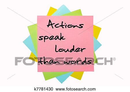 argumentative essay on actions speak louder than words Actions speak louder than words words and actions are two kinds of emotional  behaviors it is ironic that some people are always talking.