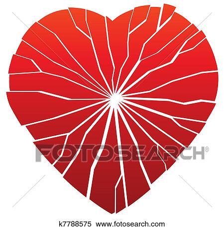 Clipart cuore rotto k7788575 cerca clipart for Clipart cuore