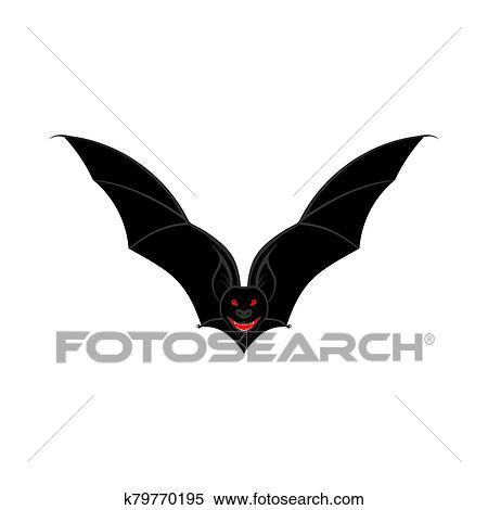 Halloween Bat Clipart K79770195 Fotosearch