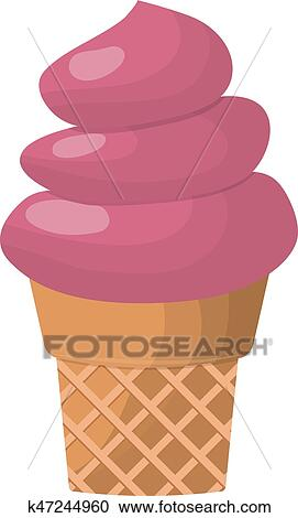 clipart of ice cream dessert vector illustration chocolate food