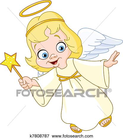 Christmas Angel.Christmas Angel Clip Art