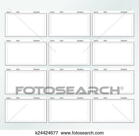Clip art of storyboard template vertical x12 k24424677 search clip art storyboard template vertical x12 fotosearch search clipart illustration posters maxwellsz