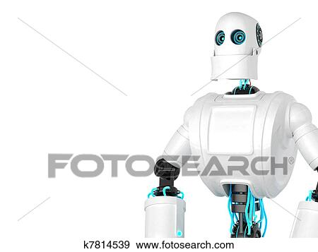 地位 ロボット イラスト K7814539 Fotosearch