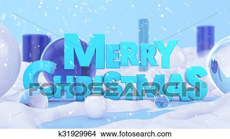Buon Natale 3d.Disegni Buon Natale Paesaggio Inverno 3d Scena K31929964