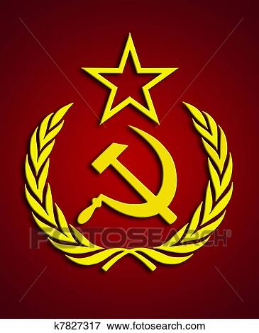 Stock Illustration Of Communism Symbol K7827317 Search Eps Clipart