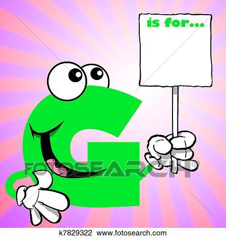 Dessin animé g
