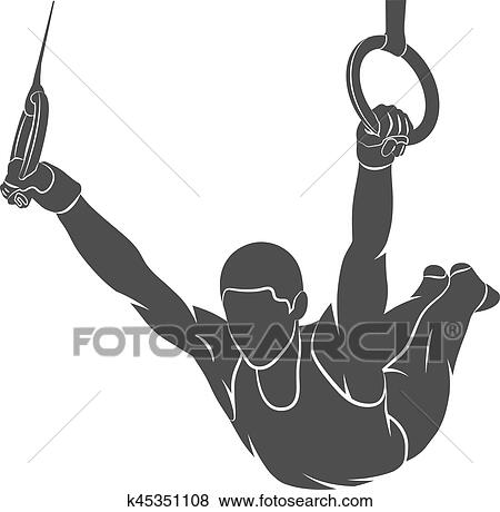 Gymnastique Anneaux Sport Clipart K45351108 Fotosearch