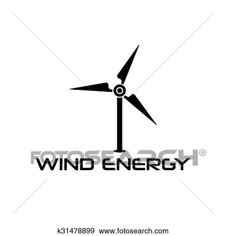 clip art of wind turbine vector design template k31478899 search