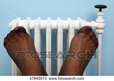 Stocking feet photos