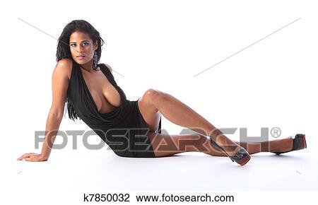 Grande sexy nero donna