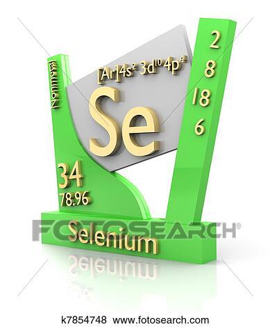 Coleccin de ilustraciones selenio forma tabla peridica de coleccin de ilustraciones selenio forma tabla peridica de elementos v2 urtaz Image collections
