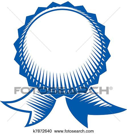 clipart of blue ribbon k7872640 search clip art illustration rh fotosearch com blue ribbon clipart vector blue ribbon clipart png