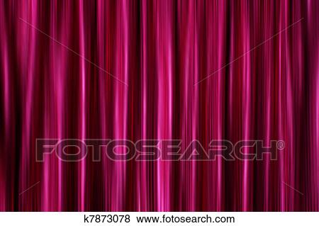 Purple Silky Satin Curtains Drapery Background