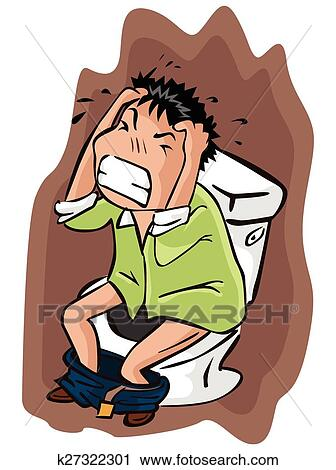 clipart of stress at toilet k27322301 search clip art rh fotosearch com stressed clip art free stressed clip art free