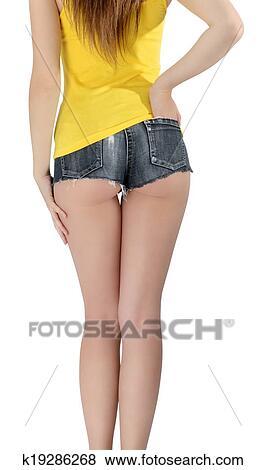 Ass in short shorts pics