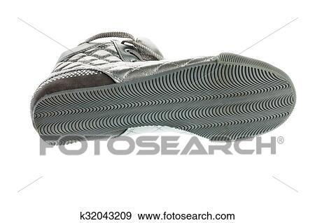 f9ed3f0ca60 Βάση άγαμος, ασημένια, αθλητικά παπούτσια, απομονωμένος, αναμμένος αγαθός,  φόντο