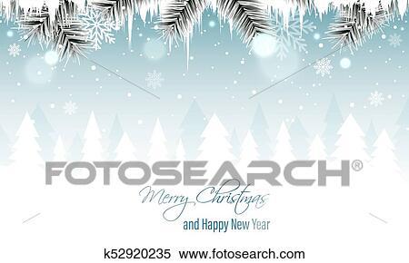 冬の景色 ベクトル 旗 で ブランチ つらら 積雪量 雪片