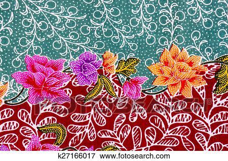 Stock Illustration Of Batik Pattern K60 Search EPS Clipart Inspiration Batik Pattern