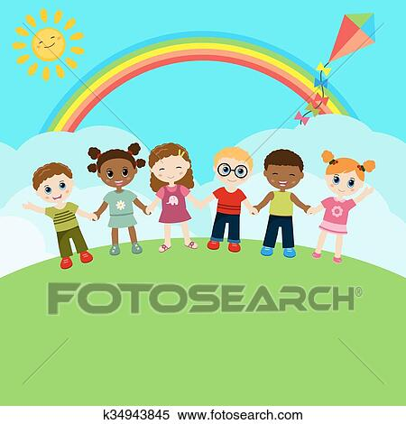 Happy Kid Happy Child clipart - Ball, Character, Mascot, transparent clip  art