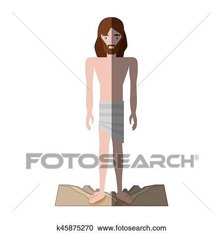 Gesù cristo spogliato abiti uggia clipart k45875270 fotosearch