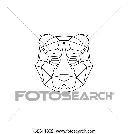 Clipart Polygonal Geometrique Animaux K52611862 Recherchez Des