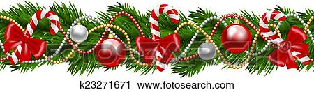 Christmas Garland Clipart