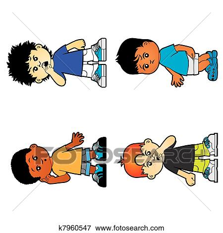 Enfants Clipart K7960547 Fotosearch