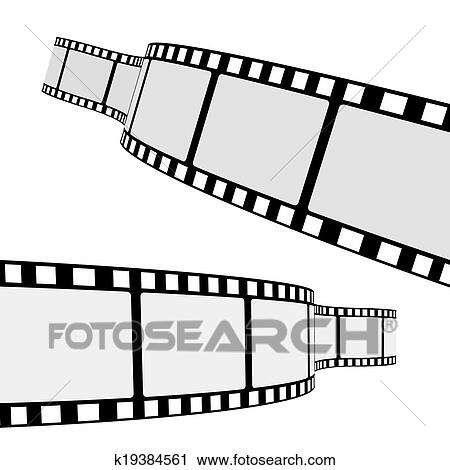 clipart of cinema film strip k19384561 search clip art rh fotosearch com film strip clipart images film strip clipart border