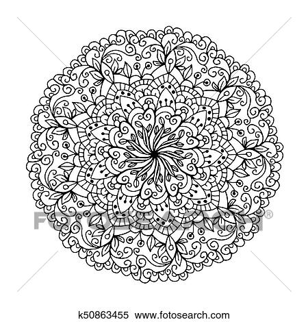 Mandalas for coloring book. Decorative round ornaments. Unusual flower  shape. Oriental vector, Anti-stress therapy patterns. Weave design  elements. ...