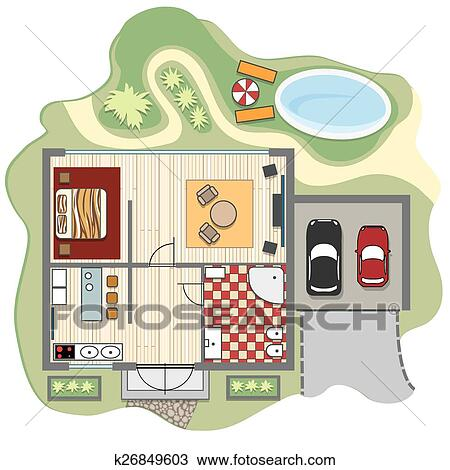 Clipart of Floor plan of house k26849603 - Search Clip Art ... on building house plans, creative house plans, animated house plans, drawing house plans, nature house plans, logos house plans, digital house plans, school house plans, frame house plans, crafts house plans, internet house plans, art house plans, entertainment house plans, color house plans, shapes house plans, family house plans, fun house plans, design house plans, thanksgiving house plans, love house plans,