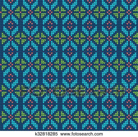Christmas Sweater Background.Ugly Sweater Background Clipart